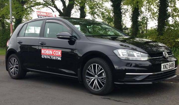 Robin Cox Driving Instructor Car